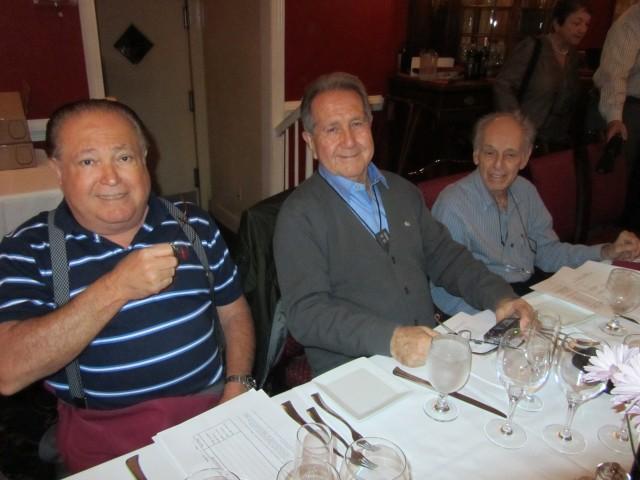 René Meza, Mario Aguilar and Emilio Bernal-Labrada