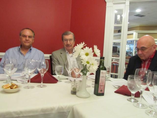 Orlando Mason, Hugo Benito and Alfonso Mulnevar