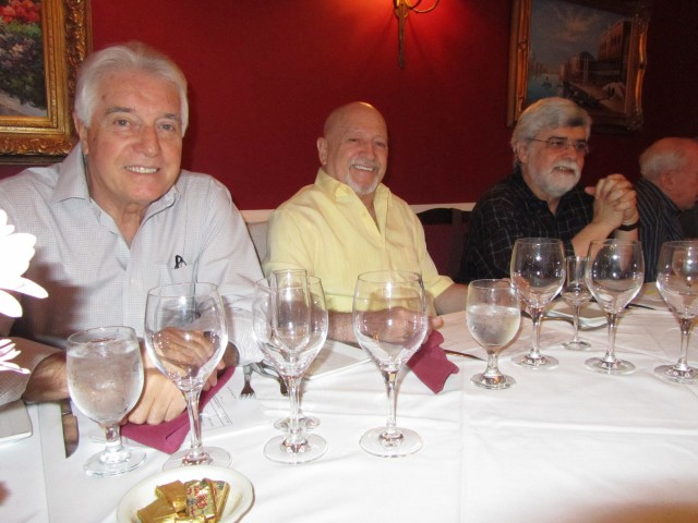 Alfonso Sánchez, Alfonso Caycedo, Jorge Omar Rodrigues