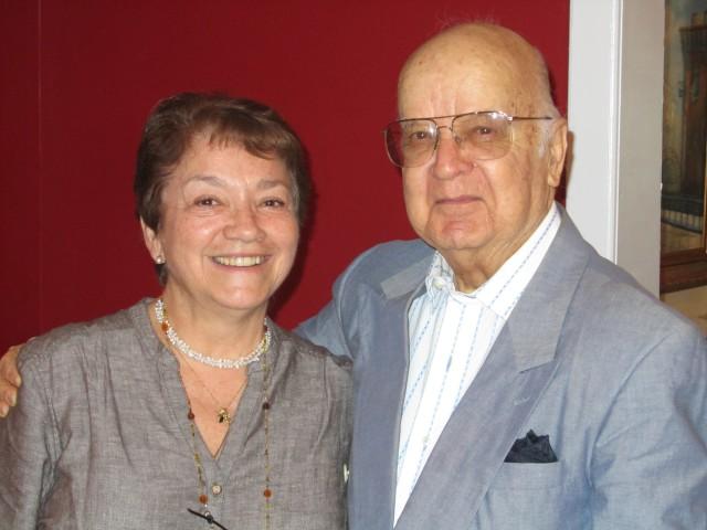 Clara Estrada and Alvaro López