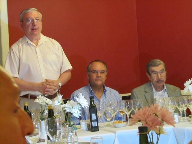 Juan Luis Colaiacovo, Orlando Mason and Hugo Benito