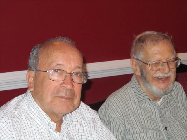 Jaime Estupiñán and Euro Alves