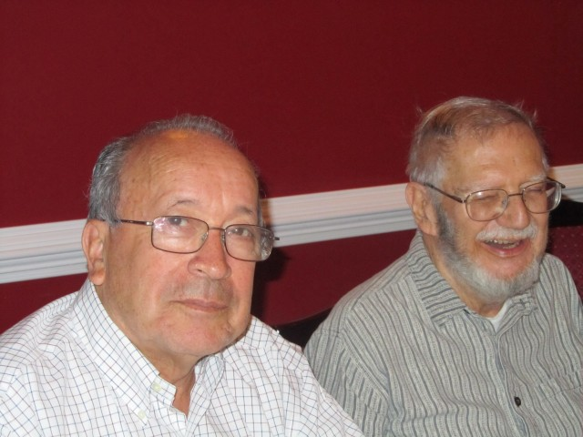 Jaime Estupiñán and Euro Alves