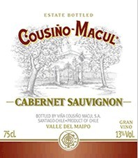 Cousino Macul Cabernet Chile