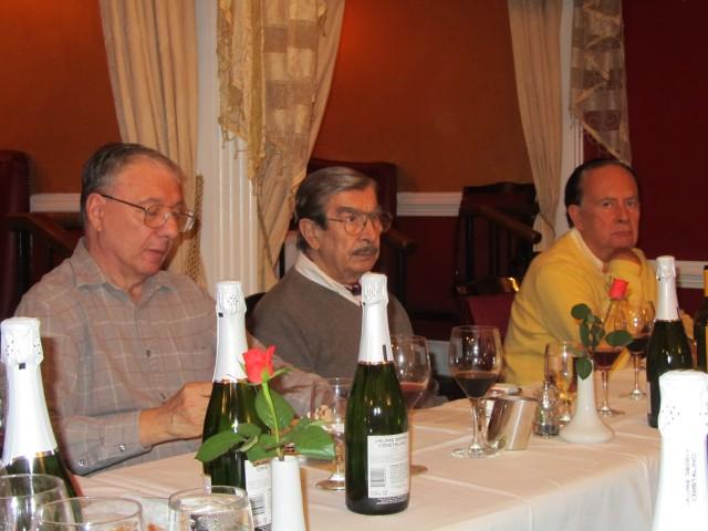 Juan Luis Colaiacovo, Hugo Benito and Rolando Castañeda