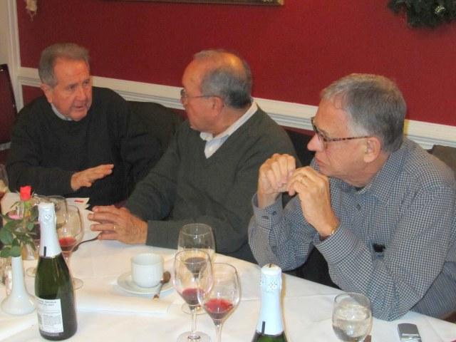 Mario Aguilar, Jaime Estupiñan and Marcello Averbug