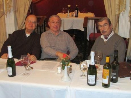 Alvaro López, J.Luis Colaiacovo and Hugo Benito