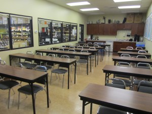 View of the Total Wine Tasting and Classroom