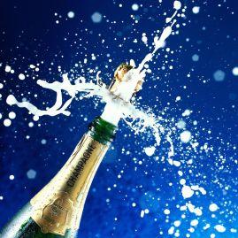 Champagne-Bottle