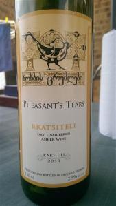 Pheasant tears