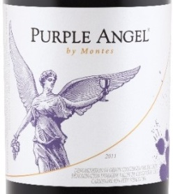 Purple Angel_label